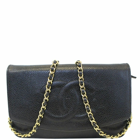 CHANEL Handbags - CHANEL Timeless WOC Caviar Leather Crossbody Bag
